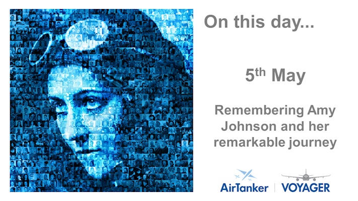 Ninety years ago today, Amy Johnson flew solo from England to Australia. thumbnail
