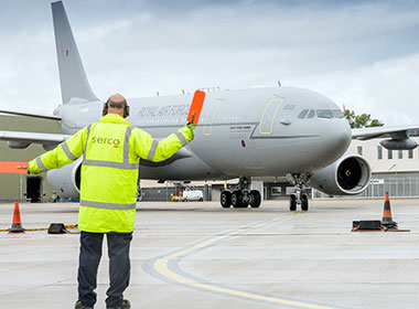 Twelfth Voyager arrives at RAF Brize Norton thumbnail