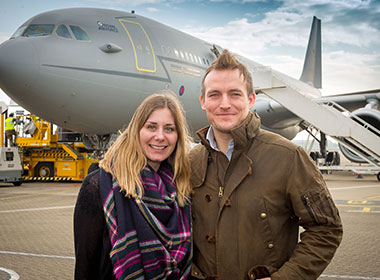 Love is in the air as our 1,000,000th passenger takes to the skies thumbnail