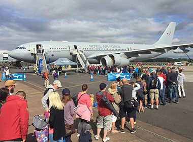 Voyager top attraction at RIAT 2015 thumbnail